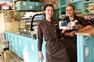 Zagreb, 151017. Petrova 167. Novootvoreni kafic i slasticarnica Choco Cafe. Foto: Darko Tomas / CROPIX