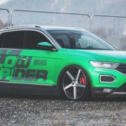 PRVI TUNING ZA T-ROC: Austrijski tuner ugradio zračni ovjes, zelenu foliju i 20-inčne naplatke