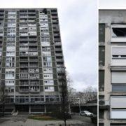 FOTO: BUKTINJA U ZAGREBAČKOM NEBODERU Na 16. katu zgrade na Vrbiku planuo stan, gasitelji su u jednom trenu zatekli gospođu u nesvijesti