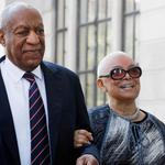 FILE PHOTO: Actor and comedian Bill Cosby arrives with his wife Camille for his sexual assault trial at the Montgomery County Courthouse in Norristown