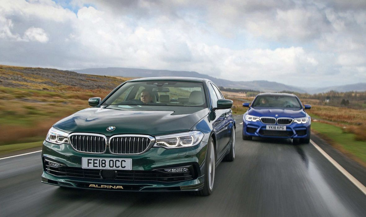 BMW Alpina,BMW M5