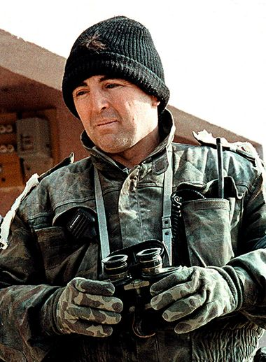 FILE PHOTO JAN93 - January 1993 file photo of Serb warlord Zeljko Raznatovic, known as Arkan, in Kasic, Bosnia. Arkan, who is wanted by an international tribunal for alleged war crimes, was shot dead on Saturday, the independent news agency Beta said.