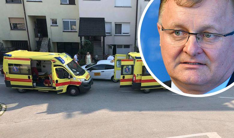 Zaprešić gradonačelnik nesreća