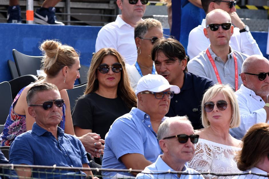 Zadar: Poznati prate teniski meÄ parova Davis Cupa izmeÄ'u Hrvatske i SAD-a | Autor: Hrvoje Jelavic/PIXSELL