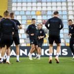 Rijeka: Trening hrvatske nogometne reprezentacije za utakmicu s Engleskom