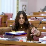 Zagreb: Tiskani materijali još jednom pobijedili tablete na saborskim klupama