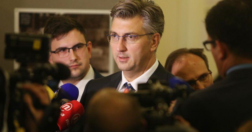 Plenković o slučaju Radeljić: SOA odgovorno radi svoj posao