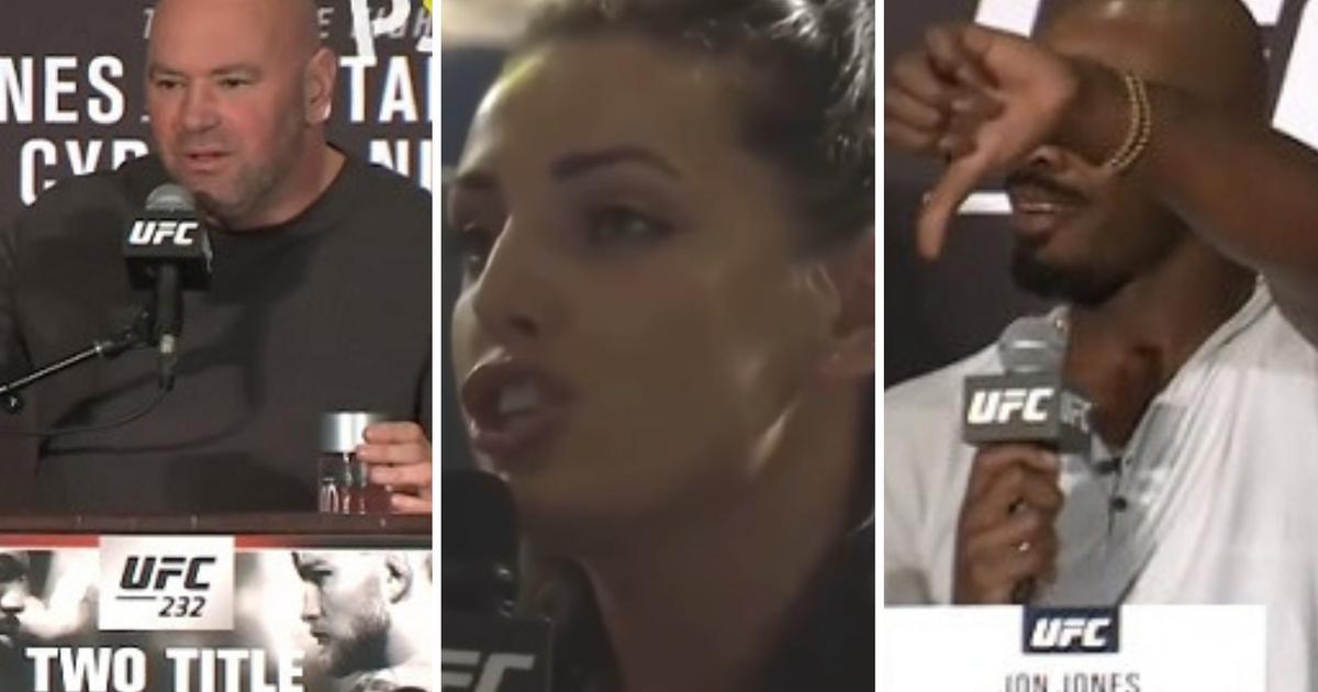 Mlada novinarka jednim pitanjem uništila UFC, Whitea i Jona Jonesa