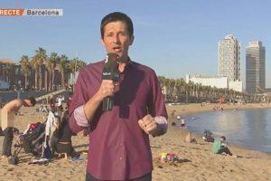 Temperature rastu u Barceloni: Gol se odijevao pred kamerom