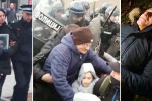 DAVIDOV OTAC NE ODUSTAJE Nakon uhićenja oca i majke policija najavila zabranu okupljanja, iz EU zatražili da se slučaj što prije raščisti do kraja