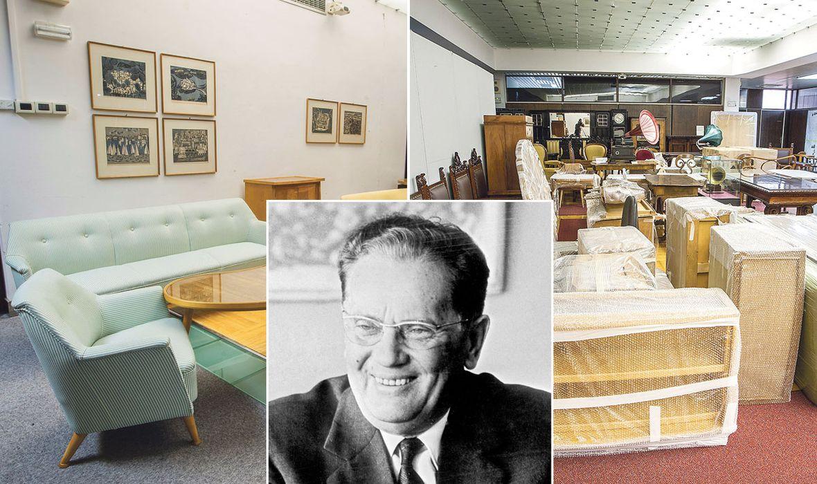LAŽNI SJAJ TITOVA GALEBA Kako je restaurirani namještaj otkrio pravu istinu o Titovu brodu: Na njemu nije bilo ni luksuza ni ekstravagantnih zabava