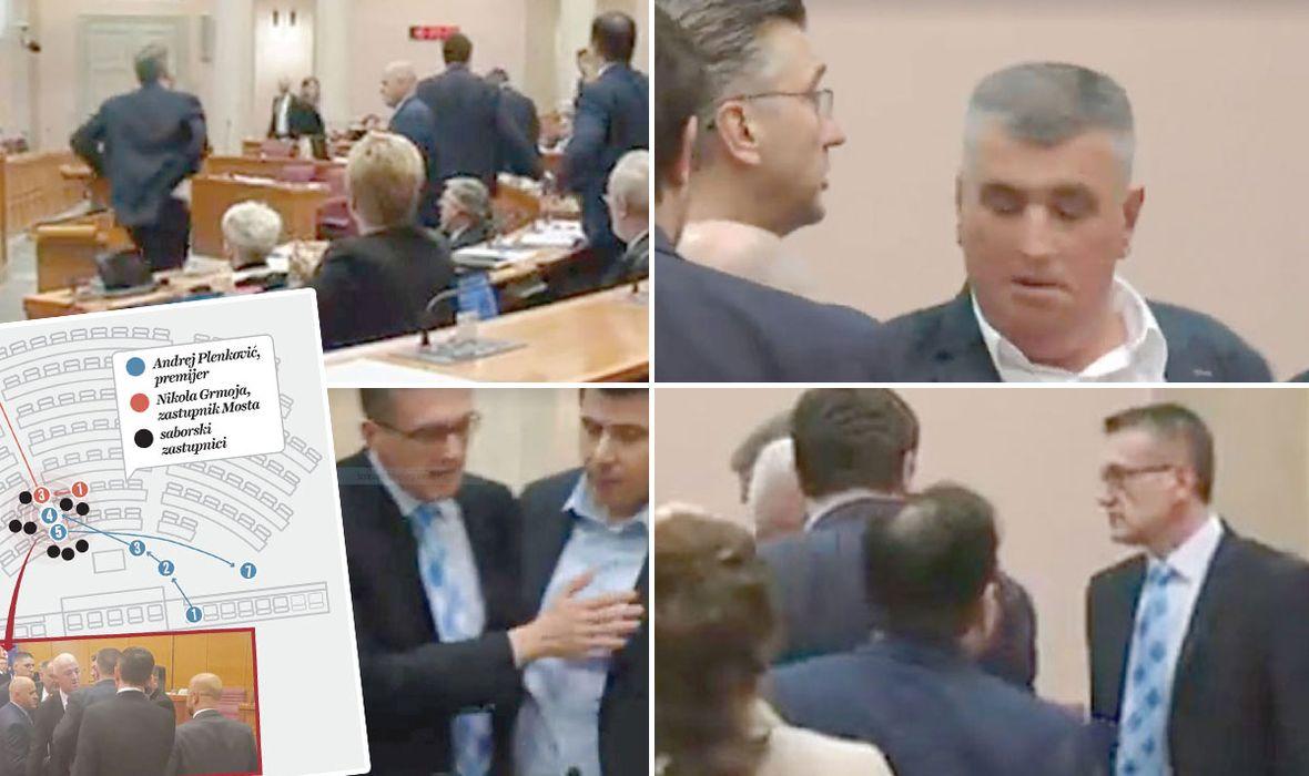 VELIKA REKONSTRUKCIJA Dok je Bulj držao Plenkovića za kravatu, Maras je vikao: Andrej, smiri se!, a Beus savjetovao Grmoji: Makni se, bit će incident