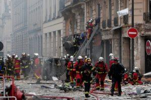 DESETERO TEŠKO RANJENIH U eksploziji plina u Parizu troje mrtvih, dva vatrogasca i španjolska turistkinja