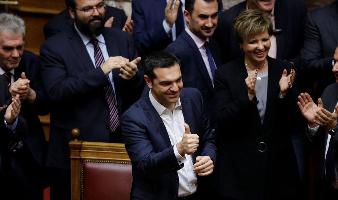 Tsiprasu izglasano povjerenje - Jutarnji List