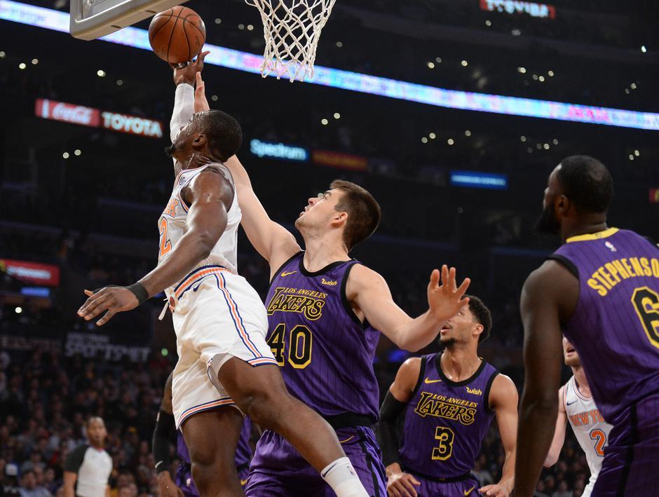 NBA: New York Knicks at Los Angeles Lakers | Autor: Gary A. Vasquez