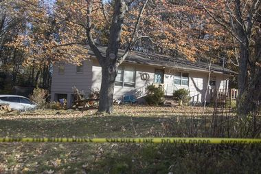 October 17, 2018 - Barron Wis, WIS, USA - Barron County Sheriff's remained at the scene of the home where 13-year-old Jayme Closs lived with her parents James, and Denise Wednesday October 17, 2018 in Barron, Wisconsin. ] JERRY HOLT • jerry.holt@startribune.com, Image: 391609183, License: Rights-managed, Restrictions: * USA Tabloid Rights OUT *, Model Release: no, Credit line: Profimedia, Zuma Press - News