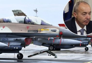 Zrakoplovi F-16 Barak