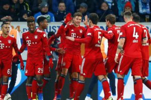 Bayern bez problema do pobjede protiv Hoffenheima