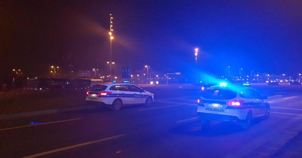 Gužva na Mostu slobode: Ima puno policije, provode akciju...