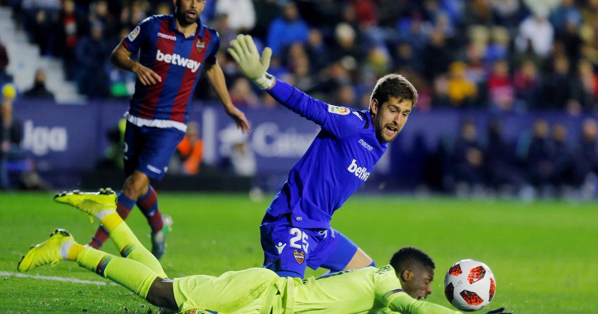 Barcelona izgubila od Levantea u kupu