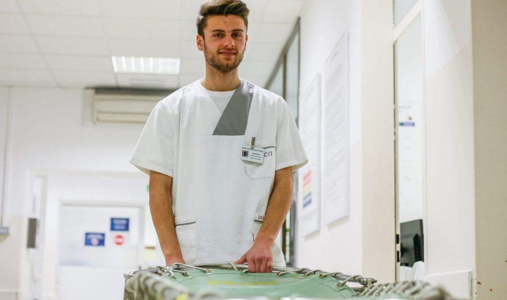 Josip je bio Mister Europe, a sad je djelatnik godine u riječkom KBC-u. To što je stopostotni invalid i gluh njegovi pacijenti uopće ne primjećuju