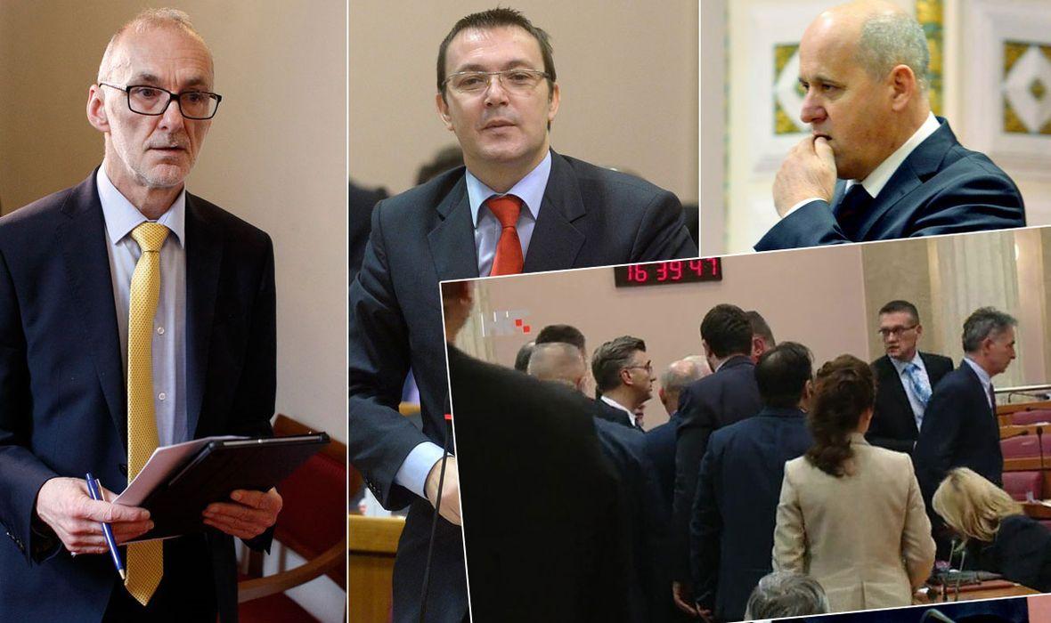 BURNO U OTVORENOM Bačić: 'Jako sam zadovoljan kako je premijer reagirao prema Grmoji' PODOLNJAK 'Grmoja ga uopće nije provocirao'