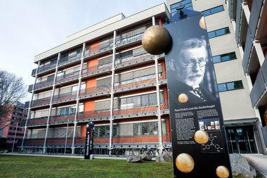 Frankfurt, 130219. Institut za biokemiju II. Na fotografiji: Institut za biokemiju II. Foto: Tomislav Kristo / CROPIX