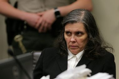 Louise Turpin appears with her husband (not shown) in court in Riverside, California, U.S. January 24, 2018. REUTERS/Terry Pierson/Pool