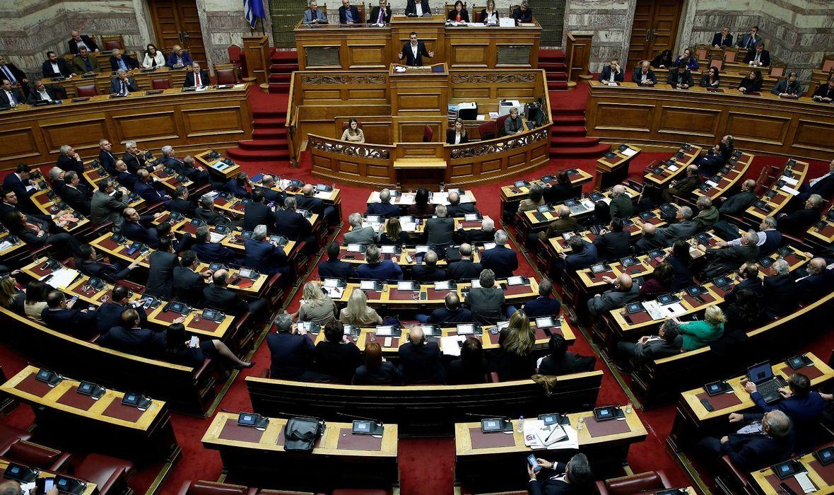 GRČKI PARLAMENT PRIHVATIO PROTOKOL O PRISTUPANJU MAKEDONIJE NATO-u Nakon što je završio 27-godišnji spor o imenu, potpisan je ugovor