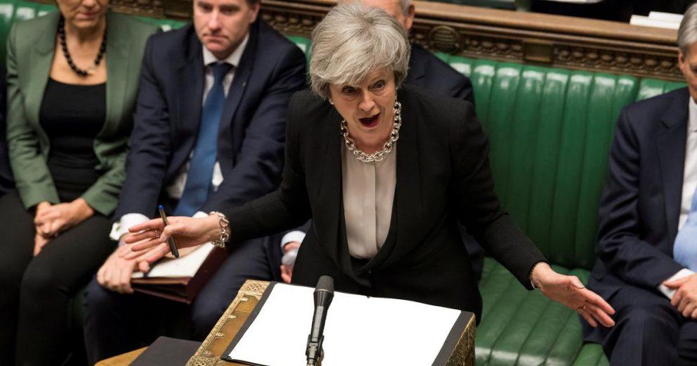 May je zastupnicima obećala priliku da kratko odgode Brexit