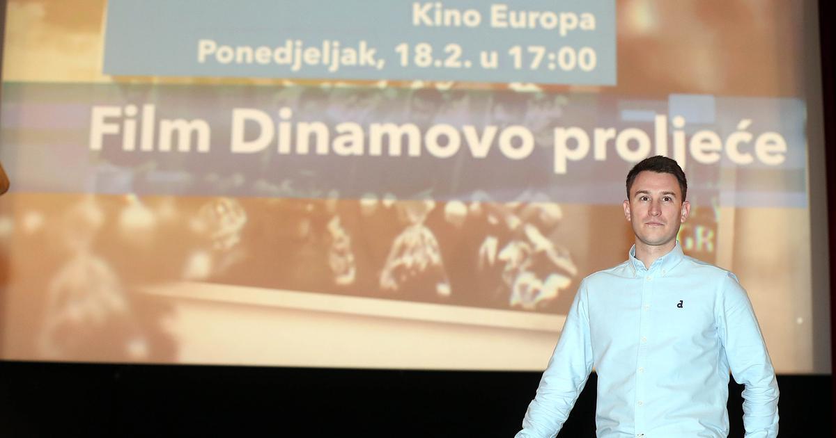 U kinu Europa je emitiran film u čast Dinamovog proljeća...