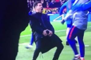 Diego Simeone se uhvatio za muda nakon prvog gola