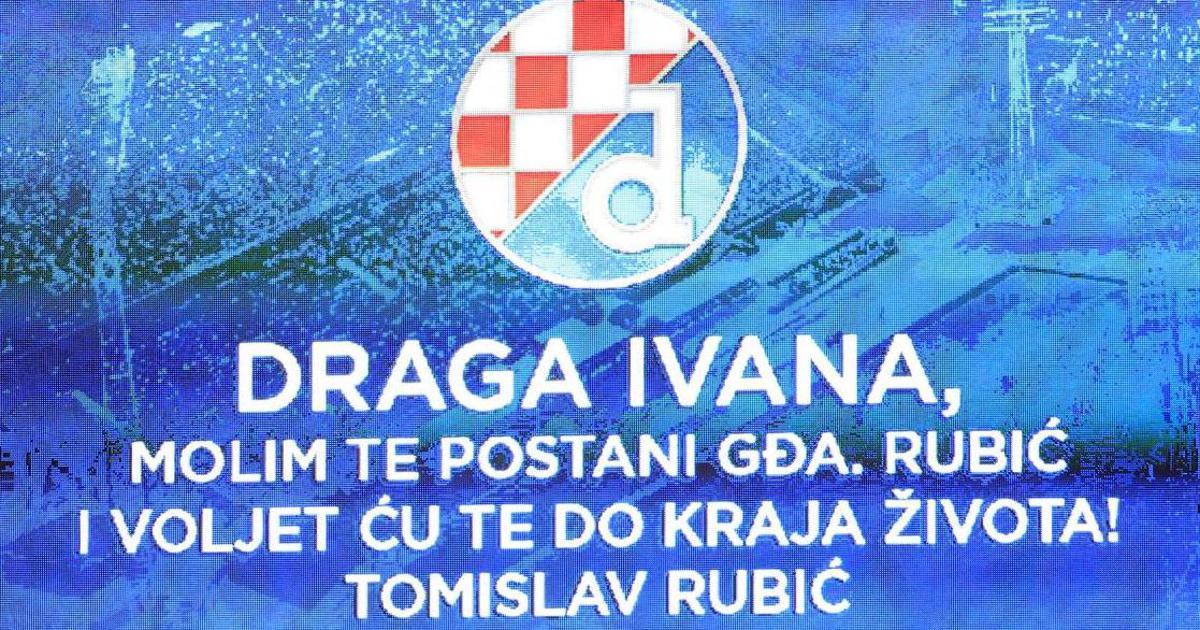 Uoči povijesne utakmice 'pala' prosidba: Ivana već slavi...