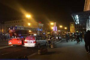 Požar na Glavnom kolodvoru u Zagrebu: 'Sve je puno dima'