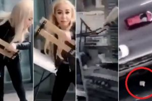 VIDEO: SNIMKA INFLUENCERICE RAZBJESNILA JAVNOST: 'KAKVA GLUPAČA!' Samo pukom srećom nije nikog ubila, a na sudu se raspala