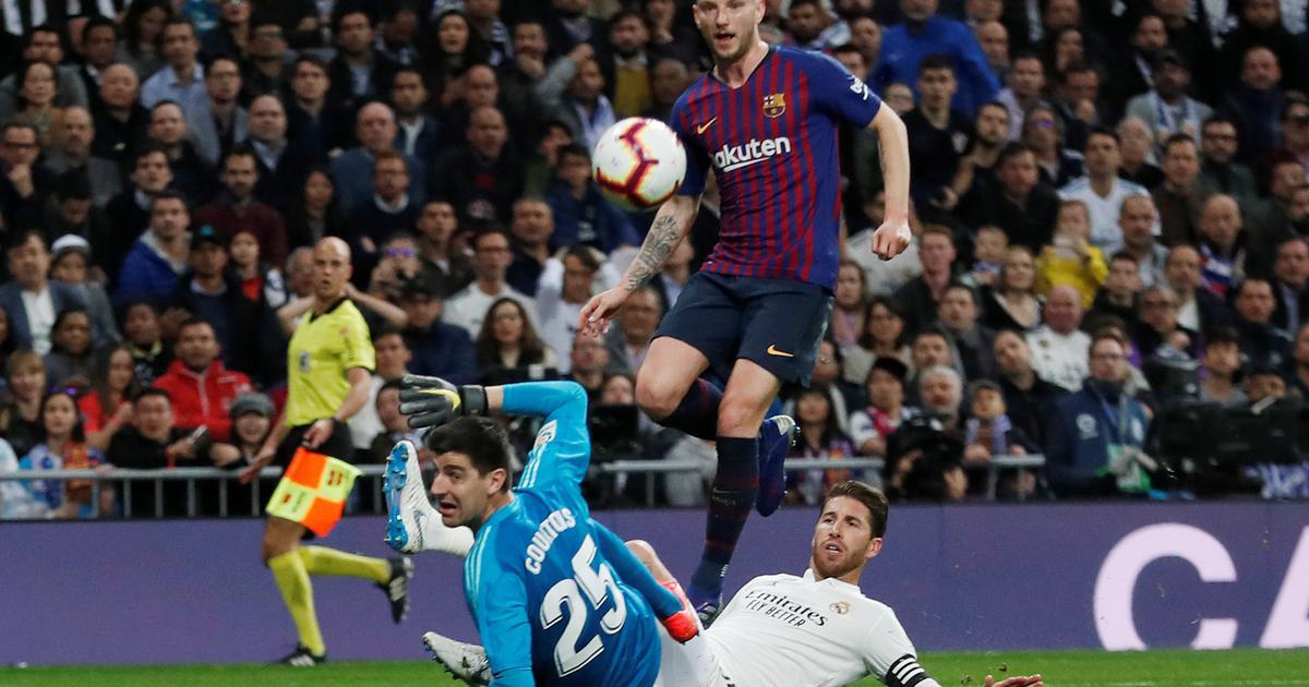 Ivan Rakitić dao gol Real Madridu u El Clasicu!