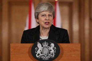 May poziva zastupnike da podupru njezin sporazum o Brexitu