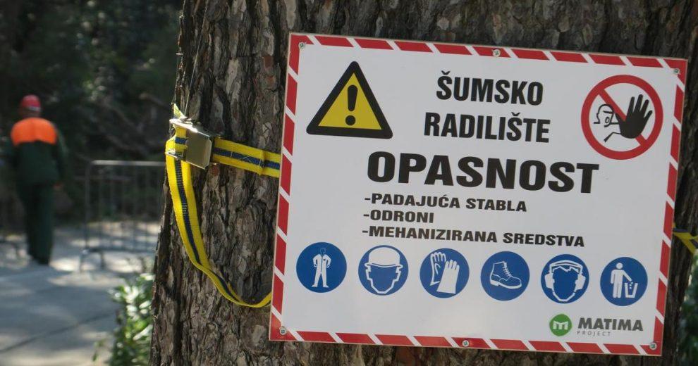 Na radnika Hrvatskih šuma je palo stablo i zatrpala ga zemlja