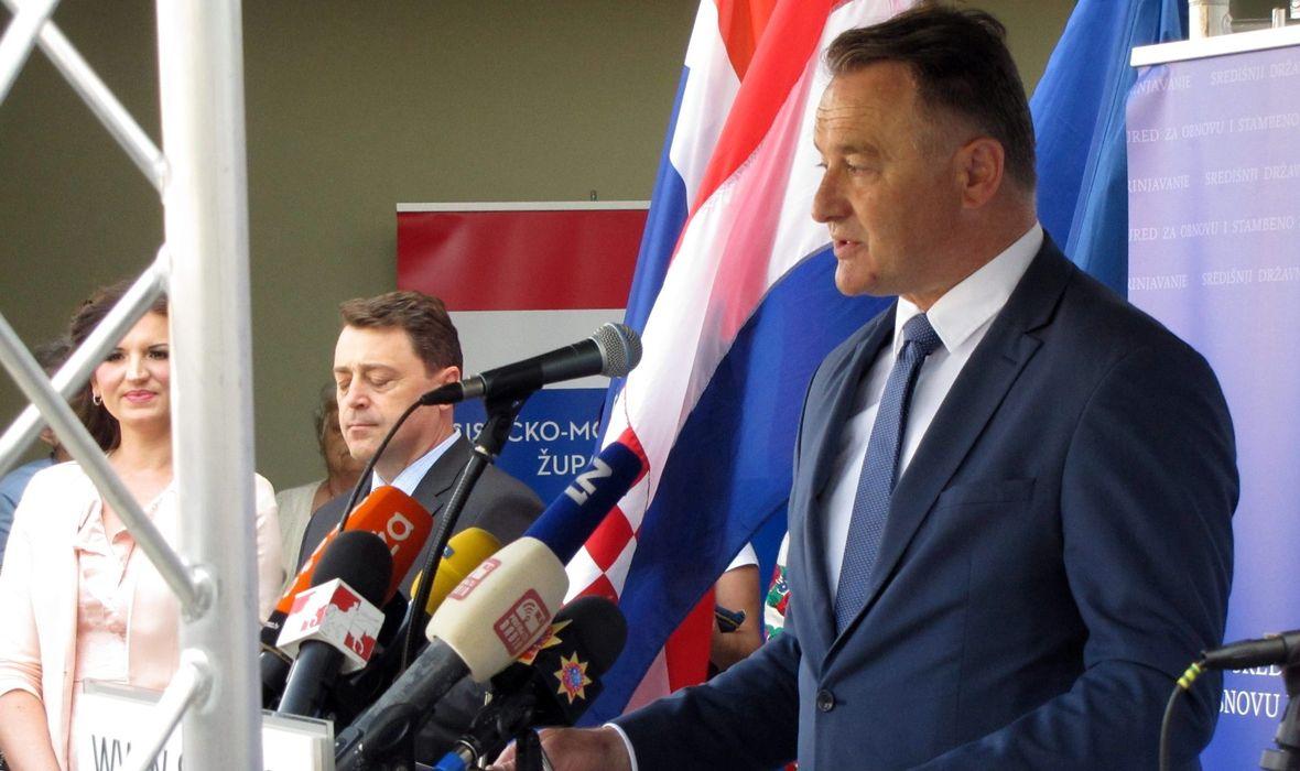 SISAČKO MOSLAVAČKI ŽUPAN POTVRDIO 'Da, ja sam podnio privatnu tužbu protiv novinarke Đurđice Klancir, a o policijskom postupanju ne znam ništa'