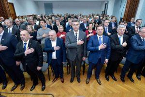 PLENKOVIĆ ČLANOVIMA HDZ-a 'Budite glasnogovornici zdravog razuma da ljudi shvate tko je danas ozbiljan na političkoj sceni, a tko ne'