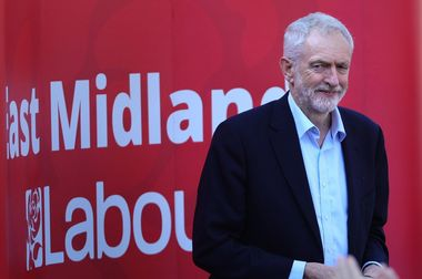 Labour leader Jeremy Corbyn at a rally at Voluntary Action in Beeston, which falls in Independent MP Anna Soubry's constituency of Broxtowe., Image: 415497822, License: Rights-managed, Restrictions: , Model Release: no, Credit line: Profimedia, Press Association