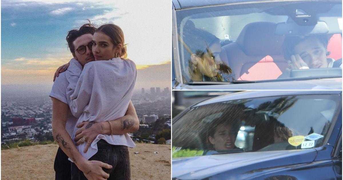 Suze u BMW-u: Beckhamov sin žestoko se posvađao s curom
