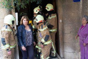 FOTO: VELIKI POŽAR U CENTRU SPLITA Zapalio se stan, stanari evakuirani: 'Mislili smo da gori cijela zgrada, u zadnji tren smo izašli!'