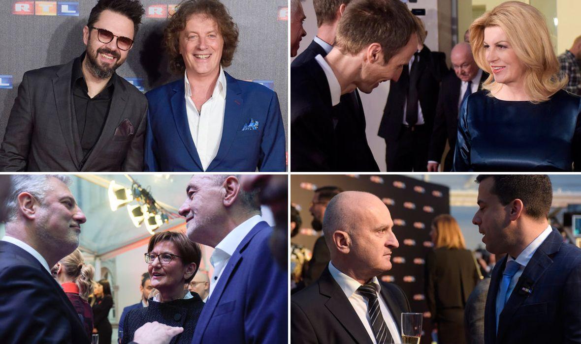 RTL U KLOVIĆEVIM DVORIMA PROSLAVIO 15 GODINA OD POKRETANJA Na veliku proslavu uz novog i starog šefa došla politička, poduzetnička i estradna krema
