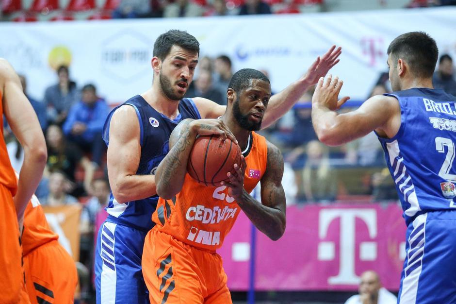 Zagreb: Druga utakmica polufinala HT Premijer lige: KK Cedevita - KK Zadar | Autor: Luka Stanzl/PIXSELL