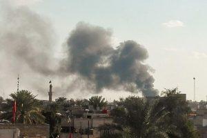 Bagdad: Ispalili raketu u zoni blizu američkog veleposlanstva