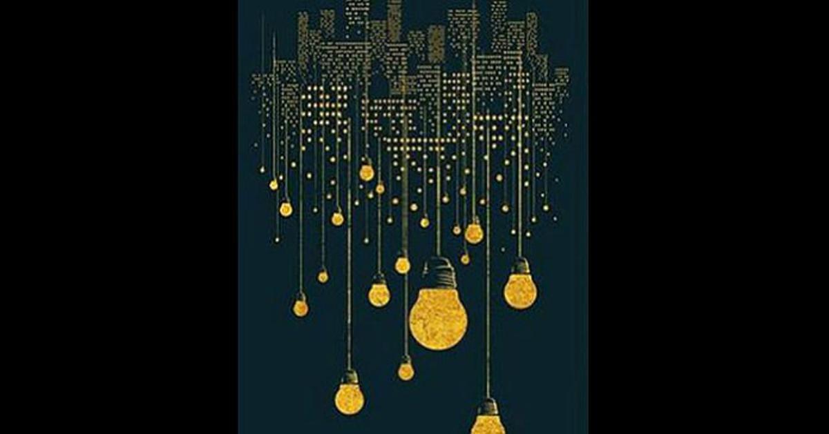 Što ste prvo ugledali na slici: Žarulje, grad, linije ili točkice