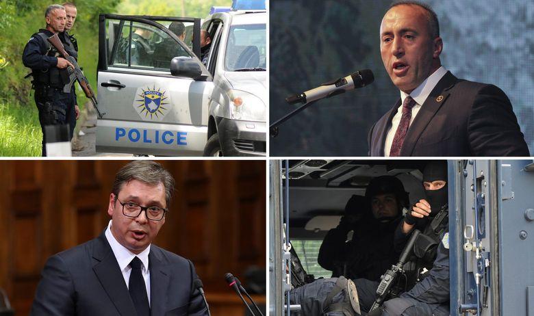 Kosovo policija Vučić Haradinaj