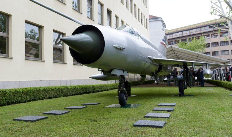 MiG 21 Rudolf Perešin