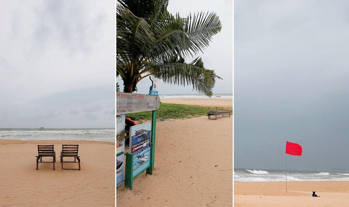 FOTO: JEZIVI PRIZORI IZ TURISTIČKOG RAJA Na vrhuncu sezone plaže su sablasno prazne, rezervacije se masovno otkazuju, sve je na rubu propasti